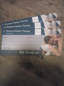 Restore Gift Card 12189916_1825898704303129_1438113193494627275_n